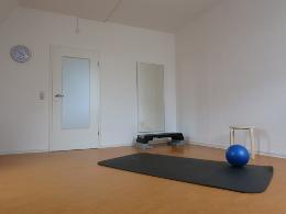 Praxis Physiotherapie schrittweise
